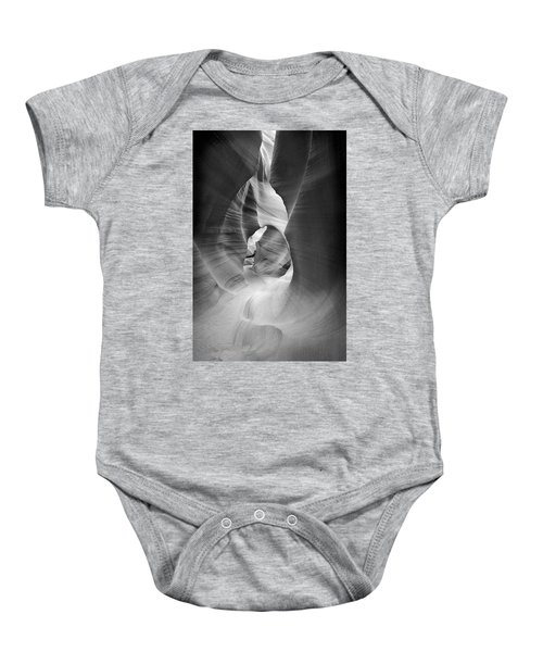 Shadows In Antelope Canyon Baby Onesie