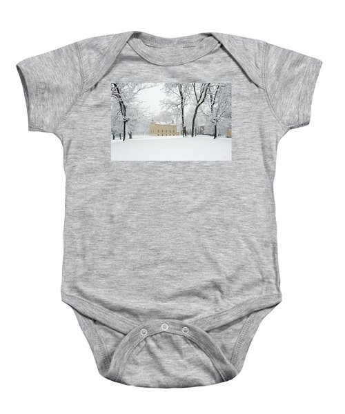 Shaker Winter Baby Onesie