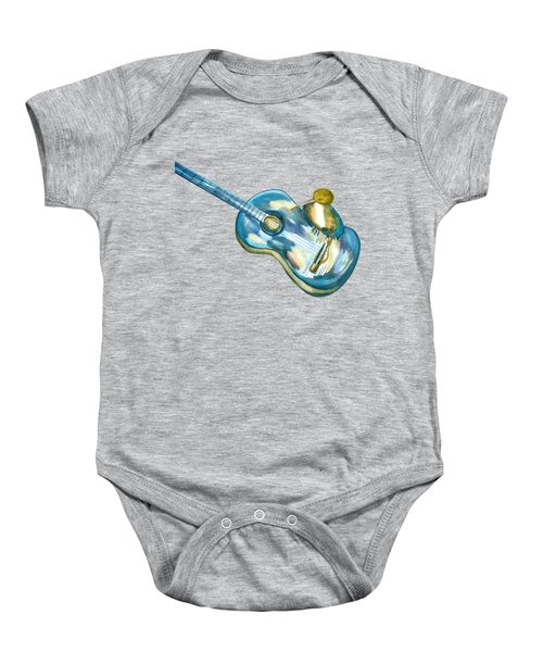Shall Strum The Strings Unto The Lord O Baby Onesie by Thecla Correya