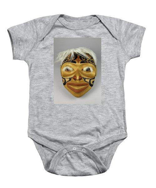 Shaman's Mask Baby Onesie