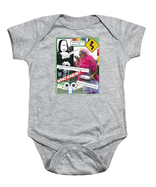 Share The Laughter Baby Onesie