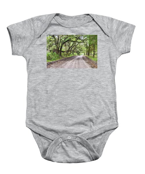 Sheep Farm On Witsell Rd Baby Onesie