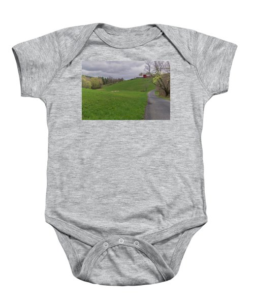 Shelburne Country Road Baby Onesie