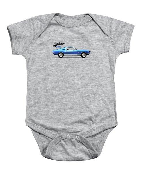 Shelby Mustang Gt500 1968 Baby Onesie