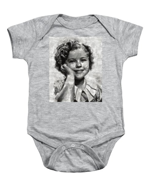 Shirley Temple By Mary Bassett Baby Onesie by Mary Bassett