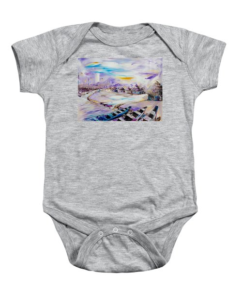 Shoreline Baby Onesie