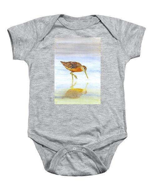 Short-billed Dowitcher Baby Onesie