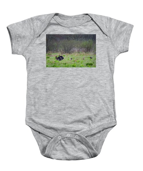 Baby Onesie featuring the photograph Showing Off by Bill Wakeley