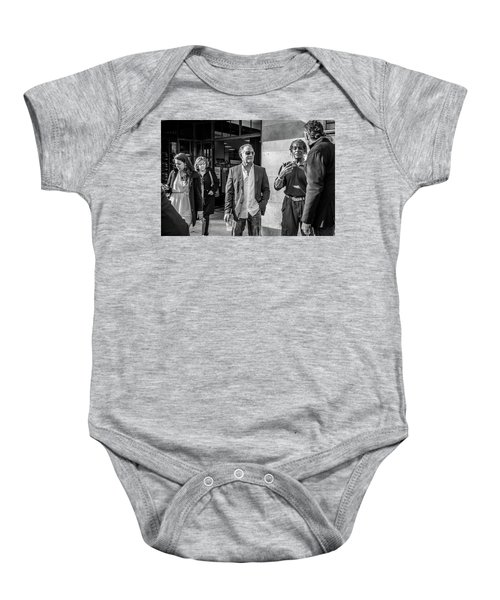 Sidewalk Circulation Baby Onesie