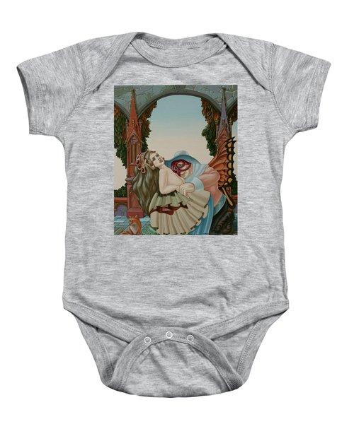 Sigmund Freud With A Fox Baby Onesie