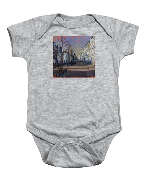 Silence Before The Storm Baby Onesie by Nop Briex