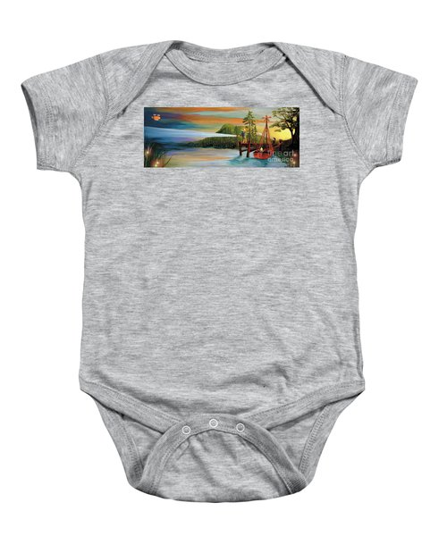 Silver Lake Baby Onesie