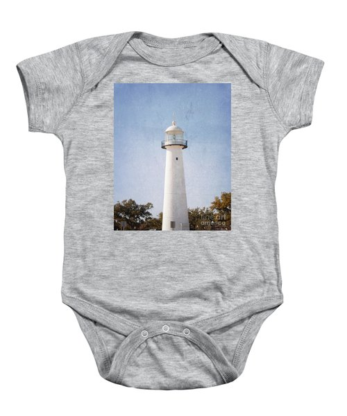 Simply Lighthouse Baby Onesie