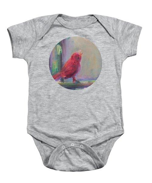Sing Little Bird Baby Onesie