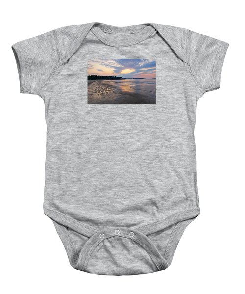 Singing Beach Sandy Beach Manchester By The Sea Ma Sunrise Baby Onesie