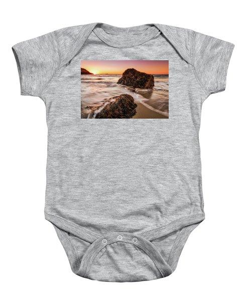 Singing Water, Singing Beach Baby Onesie