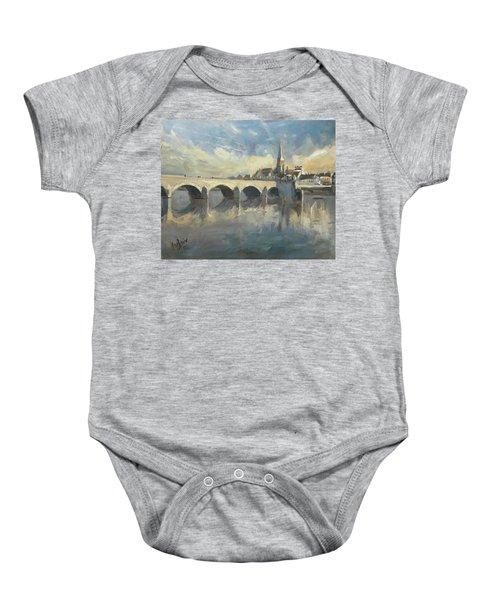 Sint Servaas Bridge Maastricht Baby Onesie
