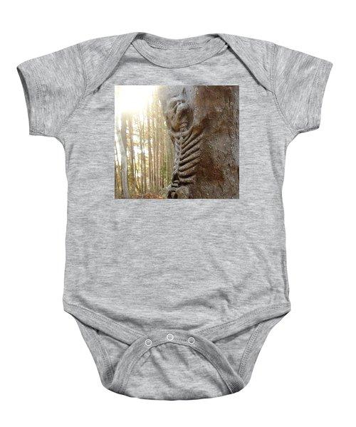 Skeleton Tree Baby Onesie
