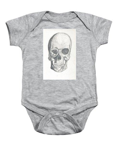 Skull Study 2 Baby Onesie