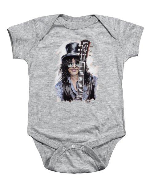 Slash 1 Baby Onesie by Melanie D