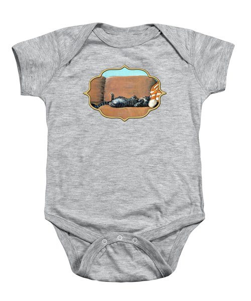 Sleeping Cat Baby Onesie