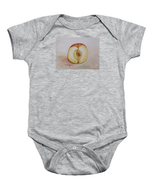 Sliced Apple Baby Onesie