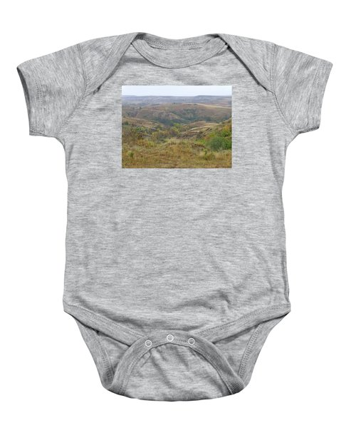 Slope County In The Rain Baby Onesie