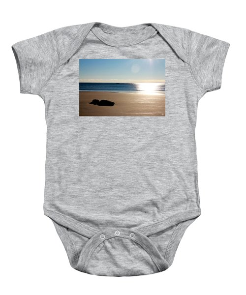 Small Point Baby Onesie