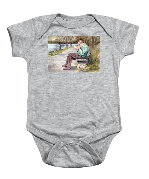 Small Print Baby Onesie