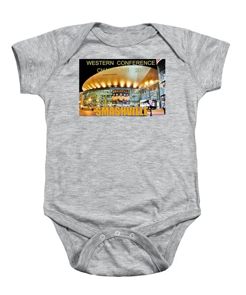 Smashville Western Conference Champions 2017 Baby Onesie