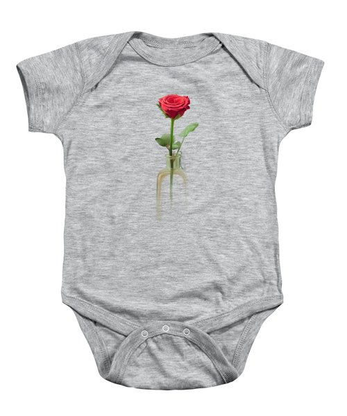Smell The Rose Baby Onesie