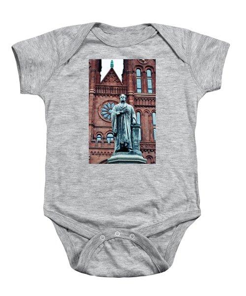 Smithsonian Castle  Baby Onesie