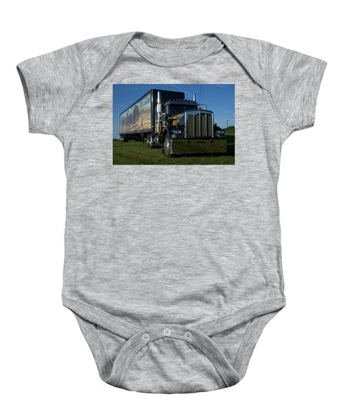 Smokey And The Bandit Tribute Semi Truck Baby Onesie