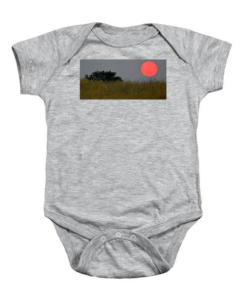 Smokey Sunset Baby Onesie