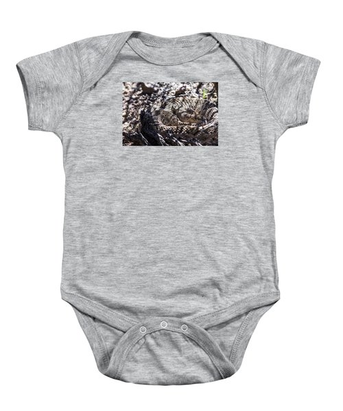 Snake In The Shadows Baby Onesie by Chuck Brown