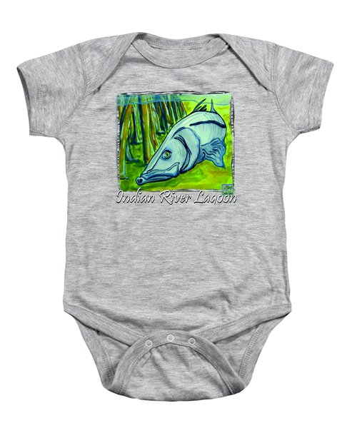 Snook Fish Baby Onesie by W Gilroy