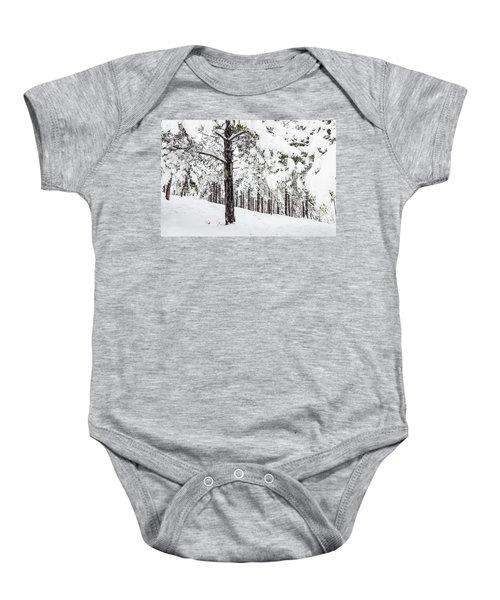 Snowy-4 Baby Onesie