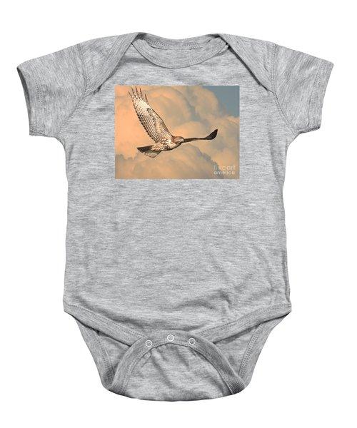 Soaring Hawk Baby Onesie