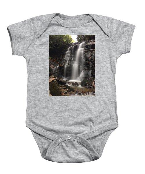 Soco Falls-portrait Version Baby Onesie