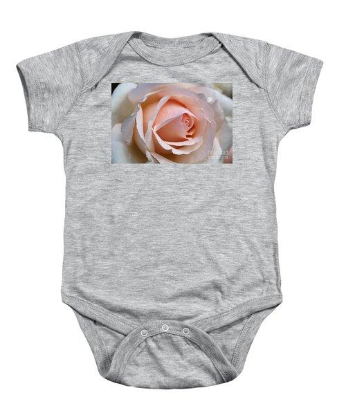 Soft Rose Baby Onesie
