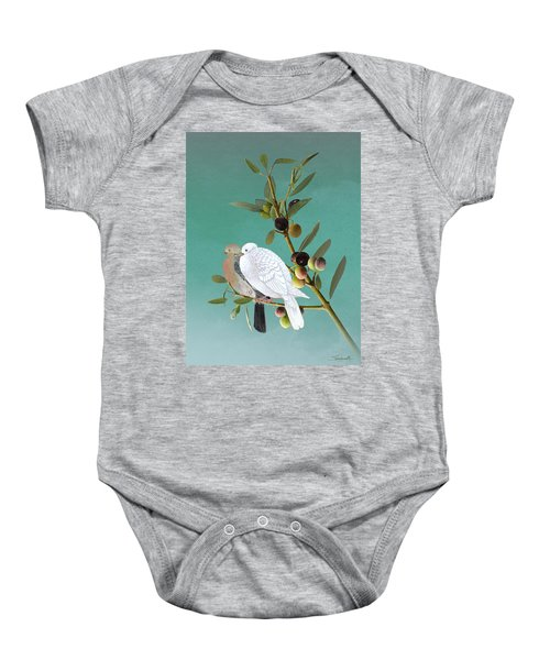 Sojourn Of The Dove Baby Onesie