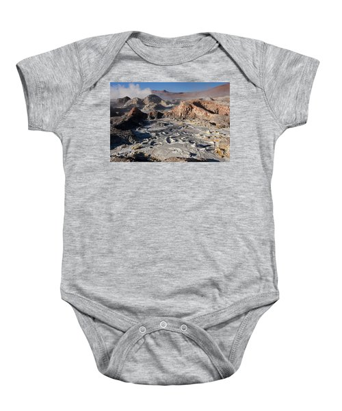 Sol De Manana Geothermal Field  Baby Onesie
