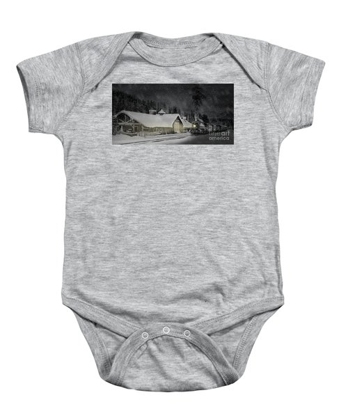 Solace From The Storm Baby Onesie