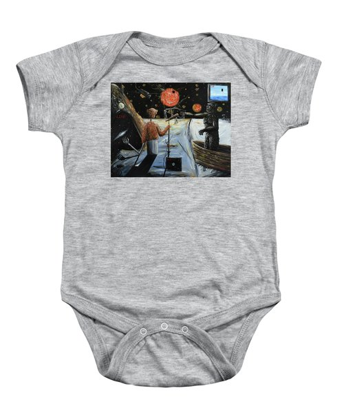 Solar Broadcast -transition- Baby Onesie