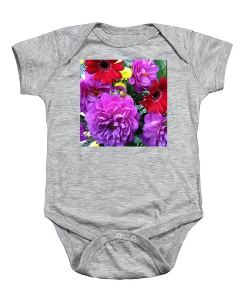 Some Fall Flowers For Inspiration! Baby Onesie