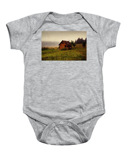 Somewhere In The Countryside. Russia Baby Onesie