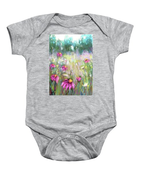 Song Of The Flowers Baby Onesie