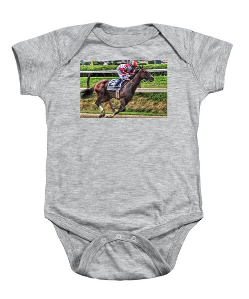 Songbird With Mike Smith Saratoga August 2017 Baby Onesie