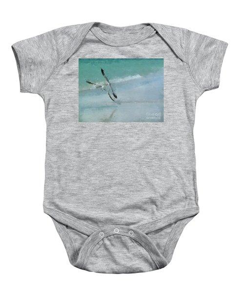 Sound Of Seagulls Baby Onesie
