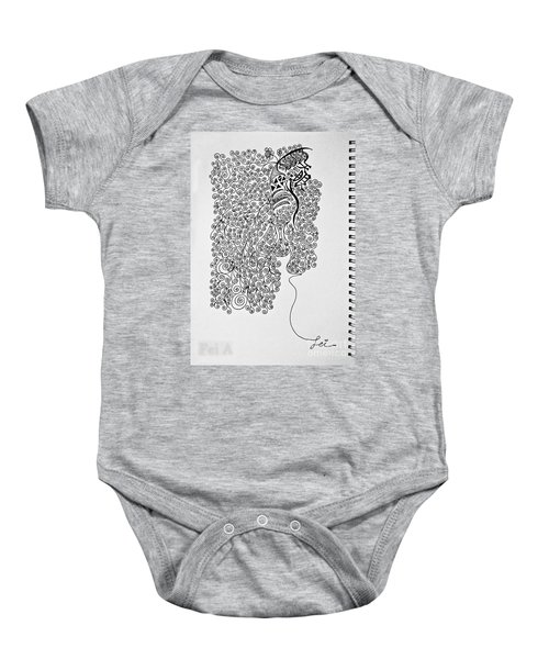 Soundless Whisper Baby Onesie